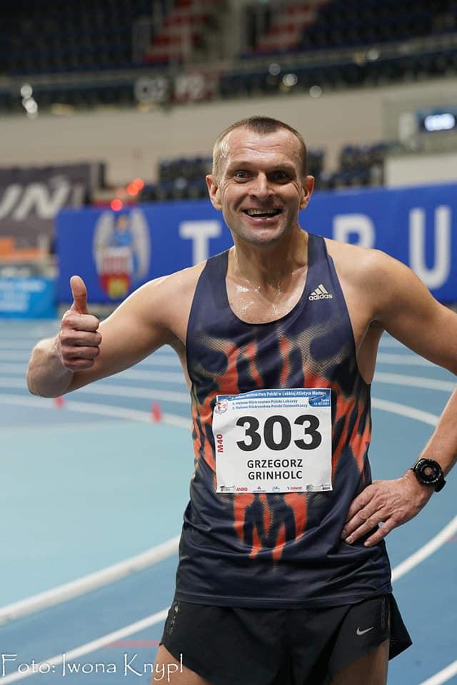 Grzegorz Grinholc podczas zawodów w Toruniu, fot. Iwona Knypl