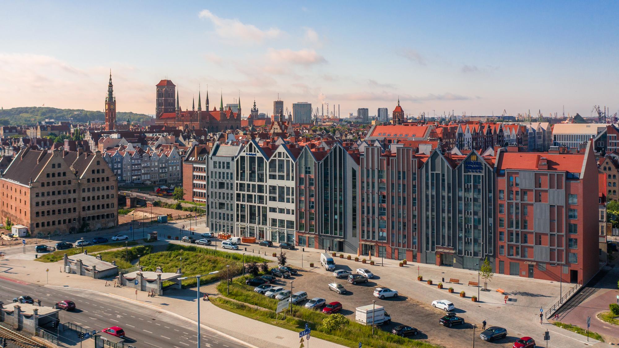 Grano Residence – kompleks apartamentowy z czterogwiazdkowym hotelem usytuowany w sercu Śródmieścia Gdańska – na Wyspie Spichrzów