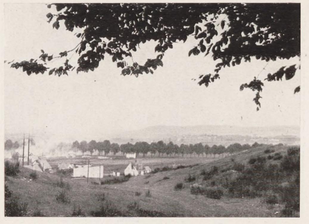 Widok na Rumię w czasie kampanii wrześniowej, Hubert Rechlin, Mit einer Pommerschen...
