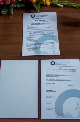 """Treść deklaracji powołania inicjatywy """"Pomorska Platforma Rozwoju Morskiej Energetyki Wiatrowej na Bałtyku"""""""
