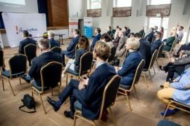 """Wstęp do podpisania deklaracji powołania inicjatywy """"Pomorska Platforma Rozwoju Morskiej Energetyki Wiatrowej na Bałtyku""""."""