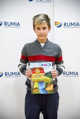 Laureat konkursu literackiego.