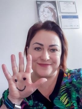 Dyrektor Miejskiego Ośrodka Pomocy Społecznej w Rumi Gabriela Konarzewska.