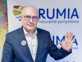 Piotr Wittbrodt wiceburmistrz Rumi do spraw społecznych.