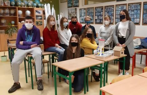 """Przebieg projektu """"Być jak Ignacy – nauka to przyszłość"""" w Szkole Podstawowej numer 6 w Rumi"""