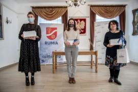 Wszystkie laureatki, od lewej: Teresa Płotkowiak, Katarzyna Szczepańska i Beata Went