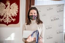 Katarzyna Szczepańska po odebraniu nagrody