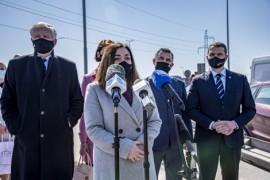 Posłanka Porozumienia Magdalena Sroka mówiła o konieczności podjęcia działań związanych z powstaniem Drogi Trzech Powiatów