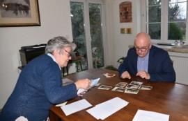 Przekazanie archiwalnych zdjęć przez mieszkankę – Małgorzatę Tokarz-Sitek