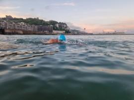 Trening na morzu w Dover, fot. Maka Multimedia