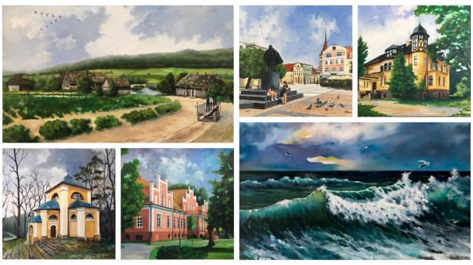 Wernisaż wystawy malarstwa online