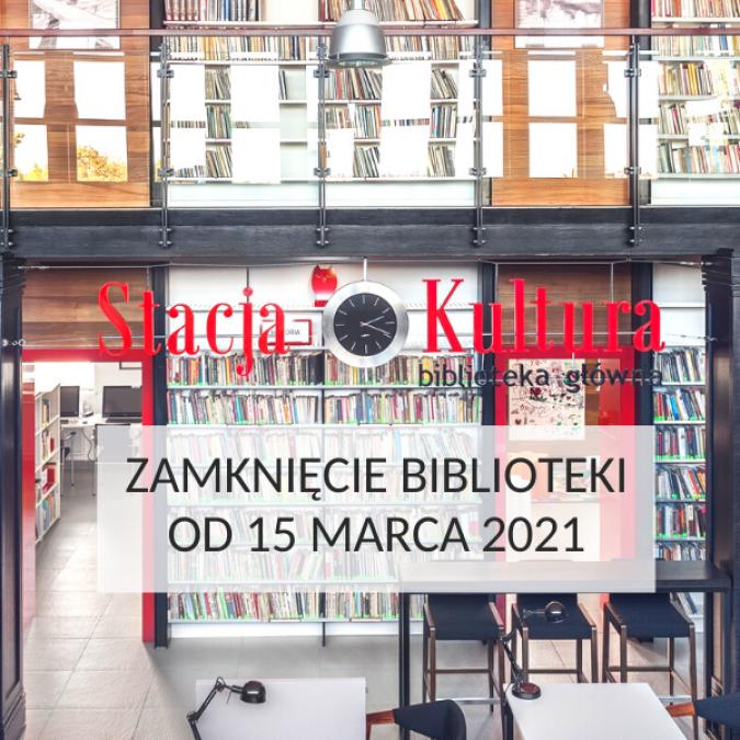 Tymczasowe zamknięcie miejskiej biblioteki