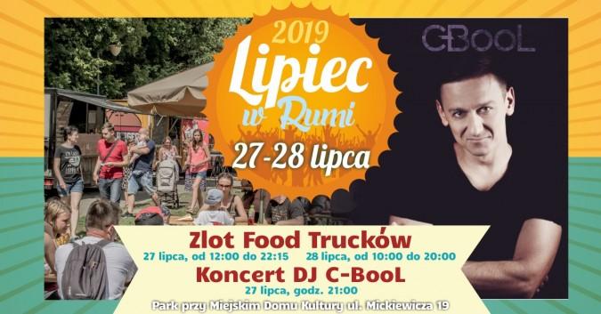 """C-Bool i food trucki na zakończenie """"Lipca w Rumi"""""""