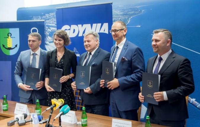 Rumia chce uczestniczyć w budowie farm wiatrowych na Bałtyku