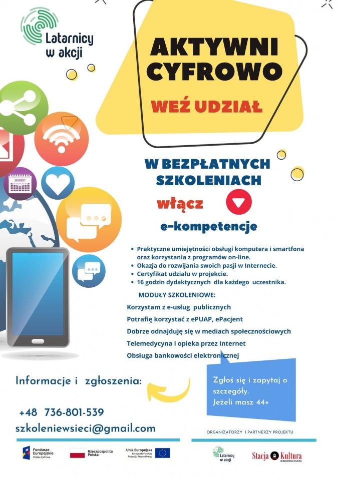 Warsztaty z nabywania kompetencji cyfrowych