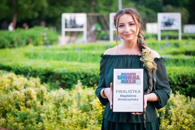 Magdalena Mrówczyńska zwyciężczynią Rumskiego Wokalu