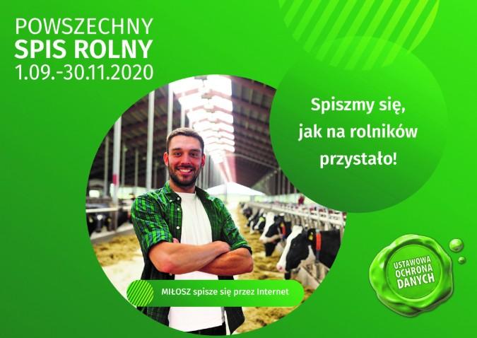 Powszechny Spis Rolny 2020 – najważniejsze informacje