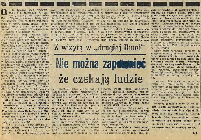 """Rumia w archiwalnej prasie – Z wityzą w """"drugiej Rumi"""""""