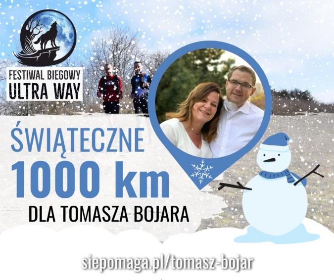 Charytatywny bieg świąteczny – chcą pokonać tysiąc kilometrów dla Tomasza Bojara