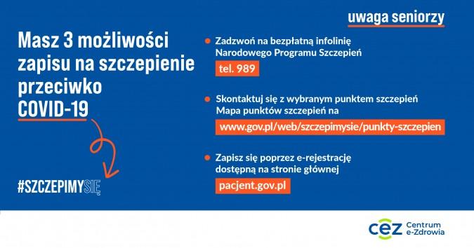 Rozpoczęła się realizacja rządowego programu szczepień przeciwko COVID-19