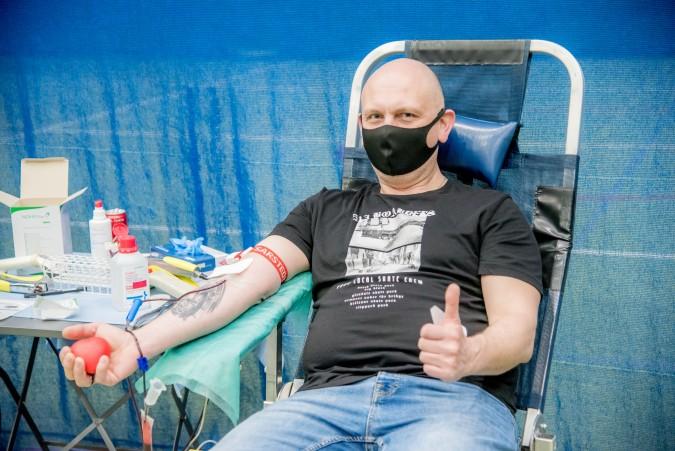 Rumianie przelali ponad 30 litrów krwi