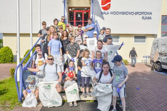 Mieszkańcy posprzątali miasto i bawili się na ekologicznym festynie