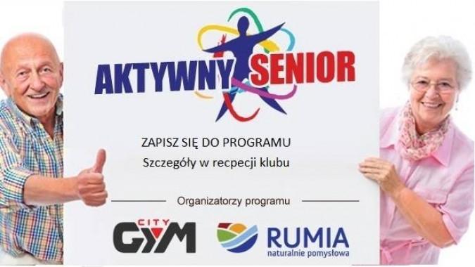 """Dodatkowy nabór do programu """"Aktywny senior"""""""