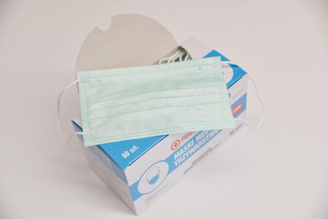 Rusza dystrybucja bezpłatnych maseczek medycznych