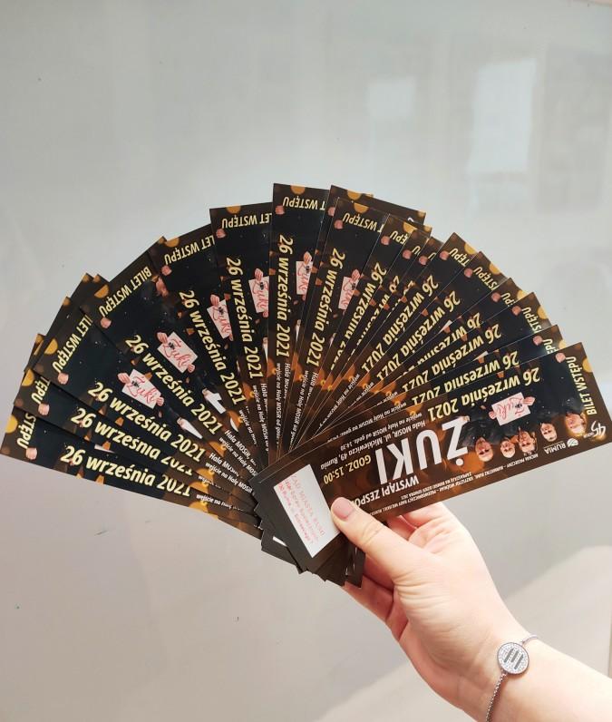Trwa dystrybucja biletów na koncert zespołu Żuki
