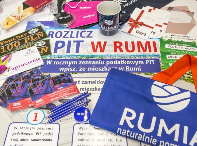 Rozlicz PIT w Rumi, nagrody czekają