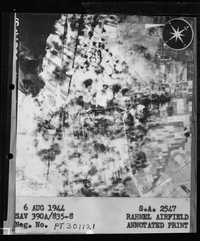 Amerykanie bombardują lotnisko w okupowanej Rumi – akcja lotnicza z 6 sierpnia 1944 roku