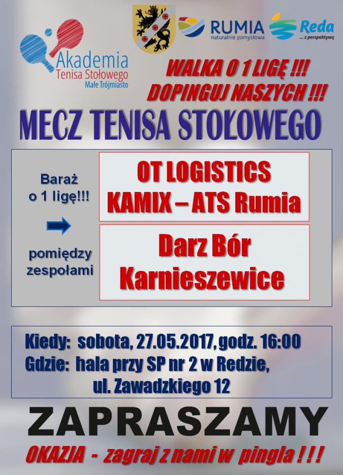 Rumscy tenisiści powalczą o awans!