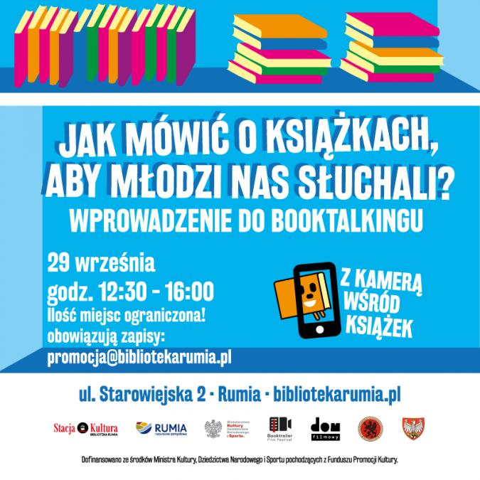 Jak mówić o książkach, aby młodzi nas słuchali? – booktalking w Stacji Kultura