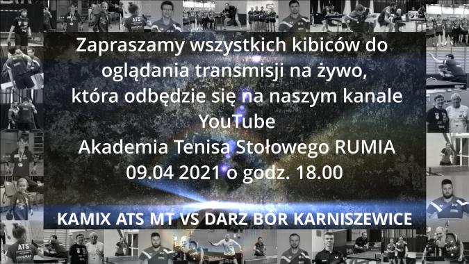 Transmisja meczu ATS Rumia z Karniszewicami