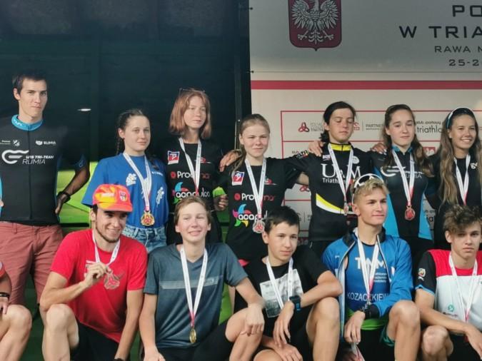 Jedne mistrzostwa i trzy medale dla zawodników Tri-Team Rumia