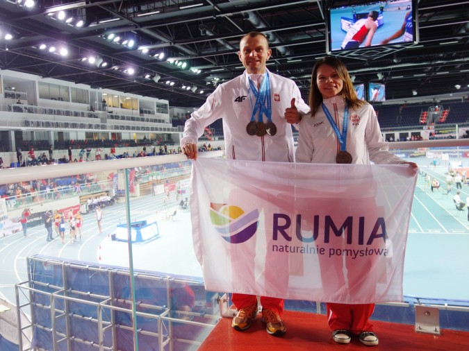 Małżeństwo z Rumi zdobyło medale na mistrzostwach świata