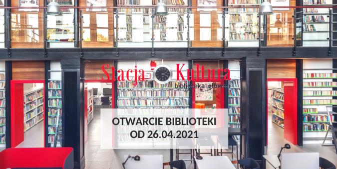 Stacja Kultura i filie Miejskiej Biblioteki Publicznej w Rumi są ponownie otwarte