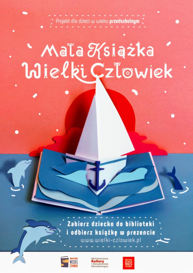 """Stacja Kultura realizuje projekt """"Mała książka – wielki człowiek"""""""