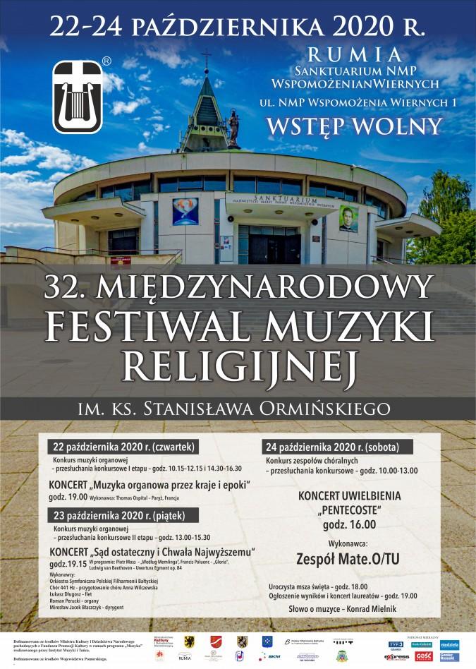 Zbliża się 32. Międzynarodowy Festiwal Muzyki Religijnej