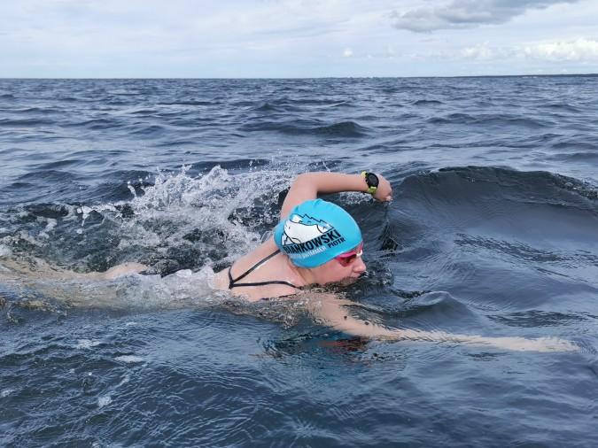 Piętnastoletnia rumianka dopłynęła z Gdyni do Helu