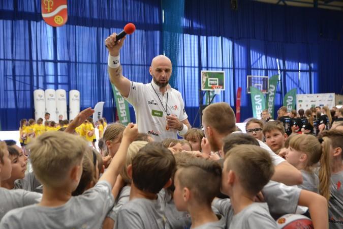 Marcin Gortat szkolił dzieci oraz młodzież