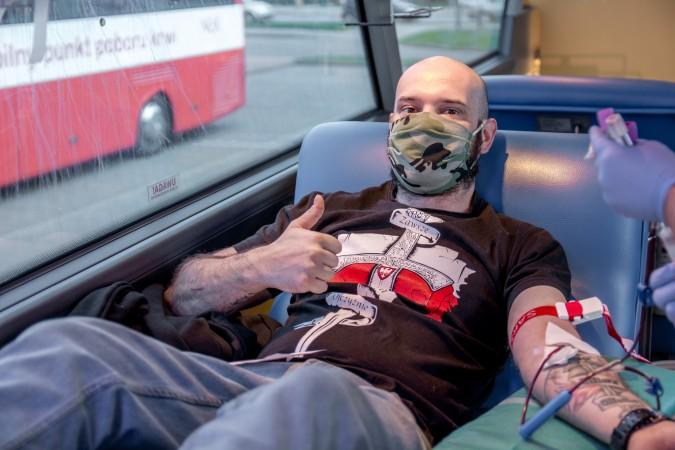 Patriotyczna zbiórka krwi zakończyła się sukcesem