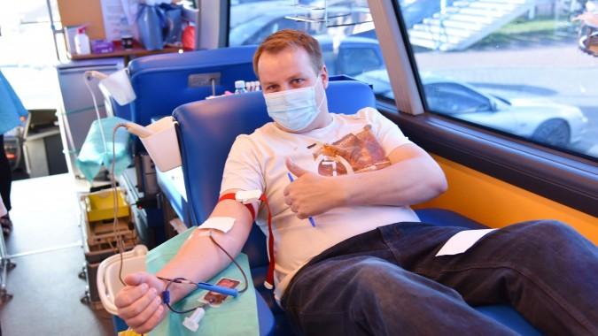 Wspólnie zapełnili krwią dwa autobusy