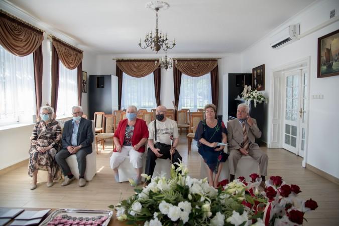 Za spędzone wspólnie dziesięciolecia otrzymali prezydenckie medale