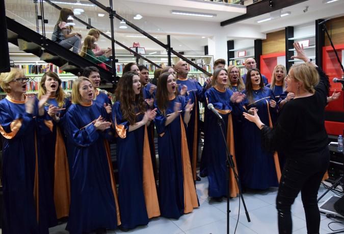 Kolędowali z Grace Gospel Choir w Stacji Kultura