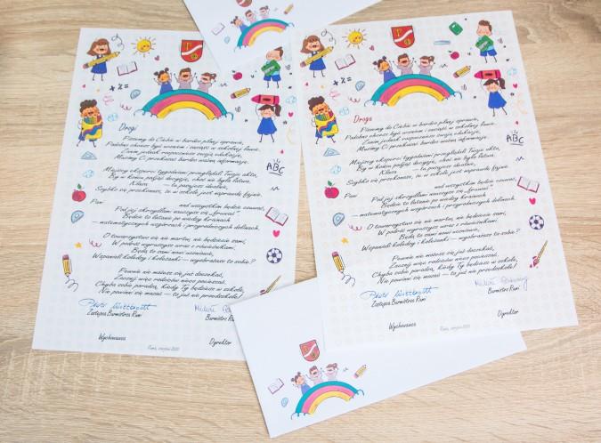 Magiczne listy dotarły do rumskich pierwszaków