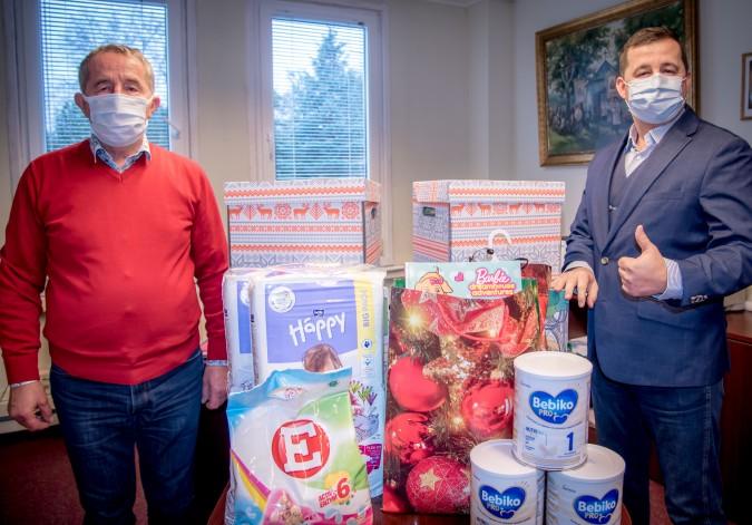 Przygotowali świąteczny prezent dla 6-osobowej rodziny