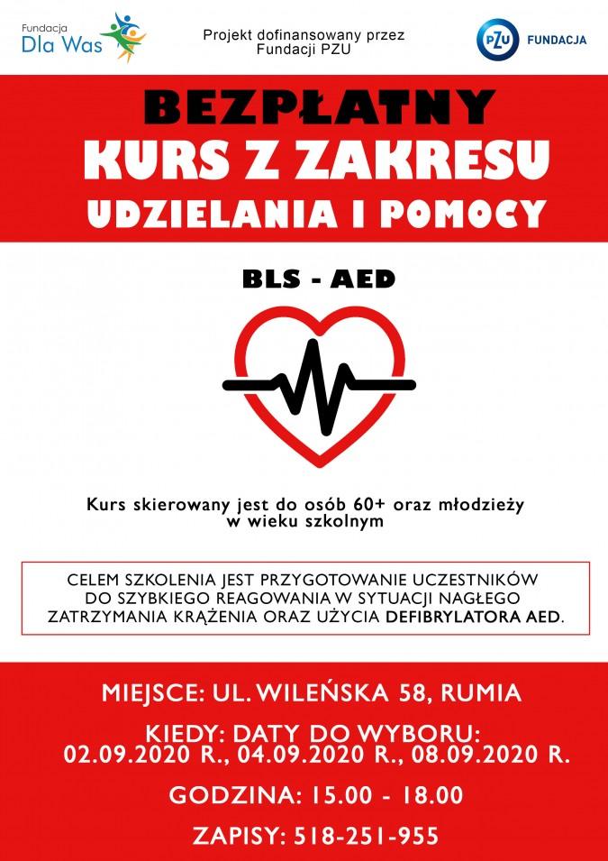 Bezpłatny kurs pierwszej pomocy