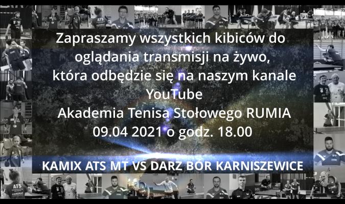 Transmisja meczu ATS Rumia z Karniszewic...