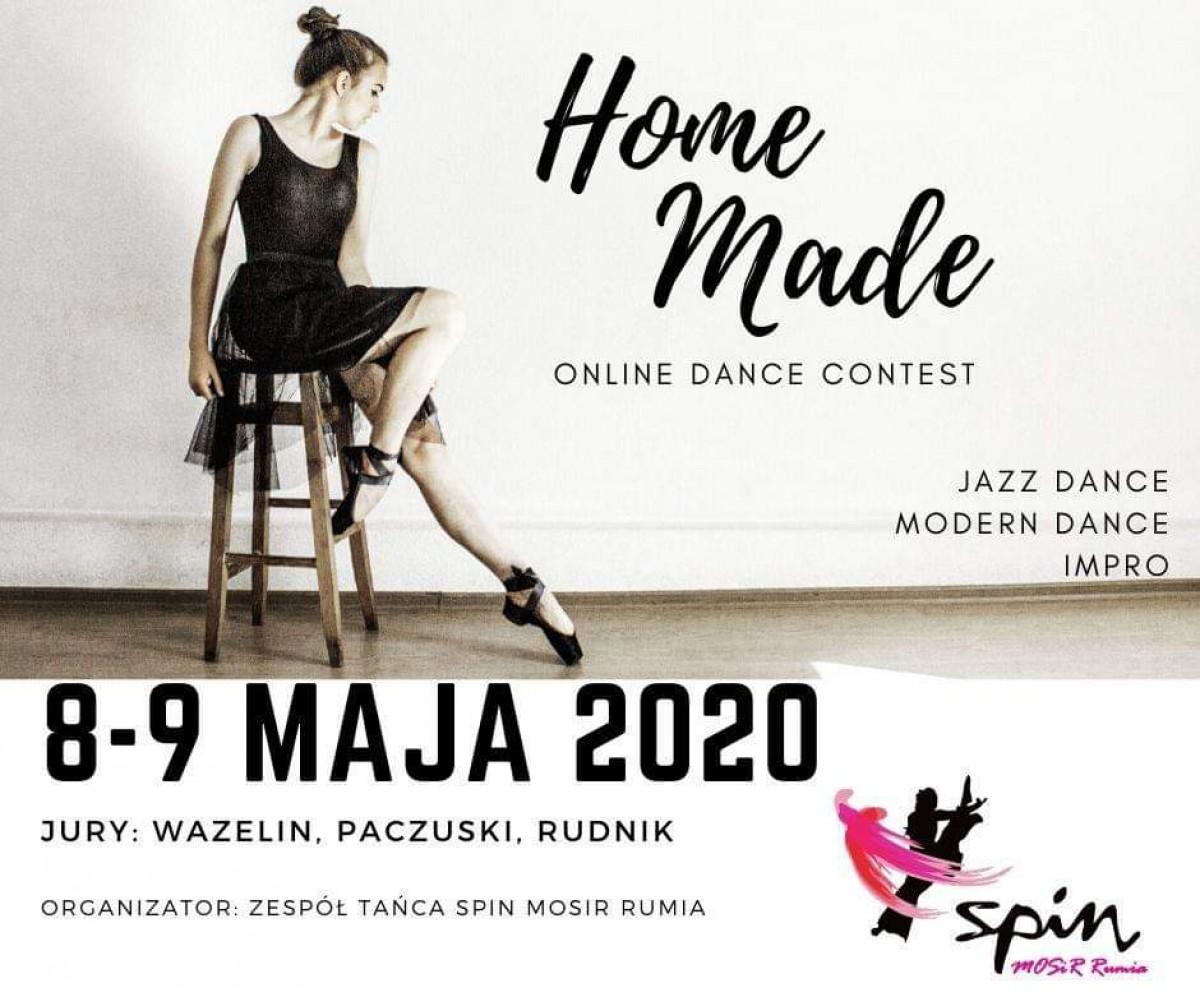 Spinki zapraszają na konkurs tańca online